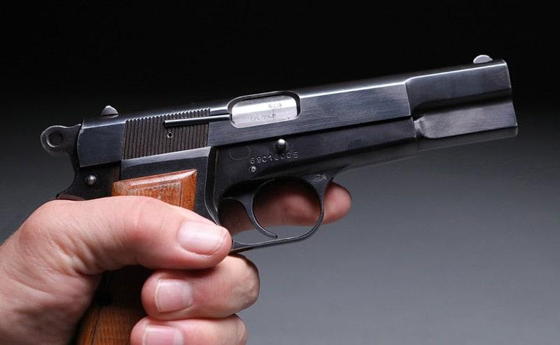 Browning Hi-Power 9mm handgun collectible