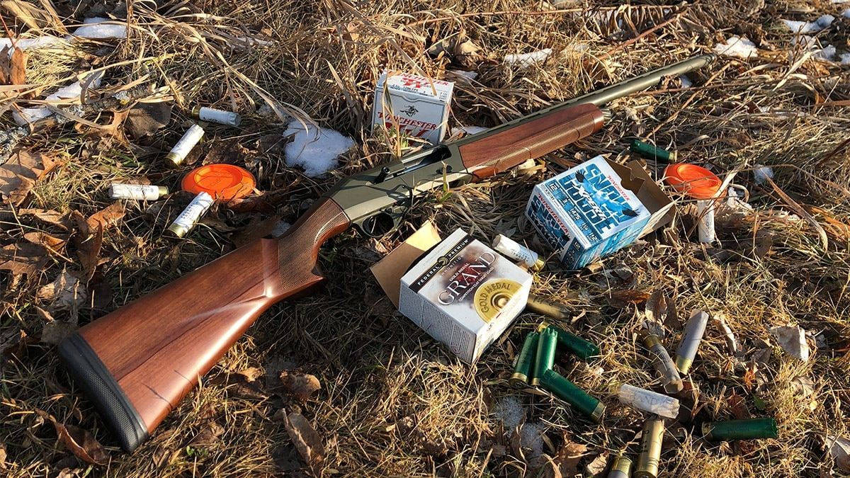 CZ 1012 with shells