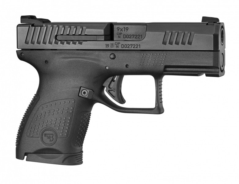 A catalog image of CZ P-10M pistol