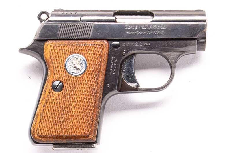 Pocket pistol Colt Junior