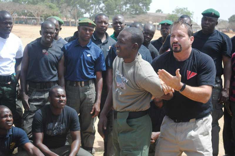training Nigerian police