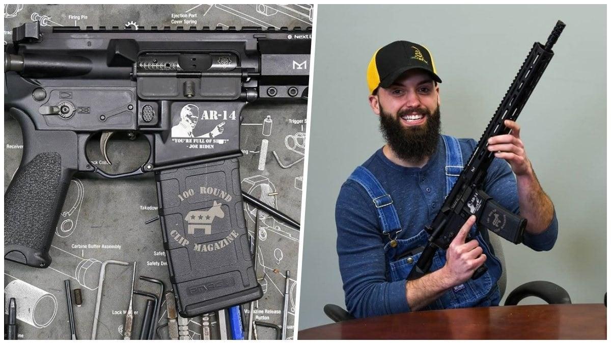 Detroit Auto Worker in Biden Gun Video Gets a New 'AR-14 ...