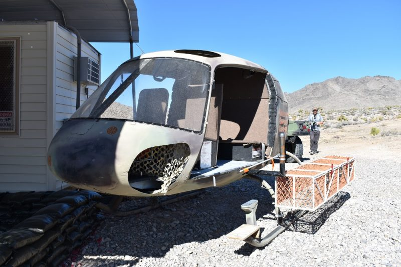 A-Star ground trainer, basically a helicopter body with no rotor or engine