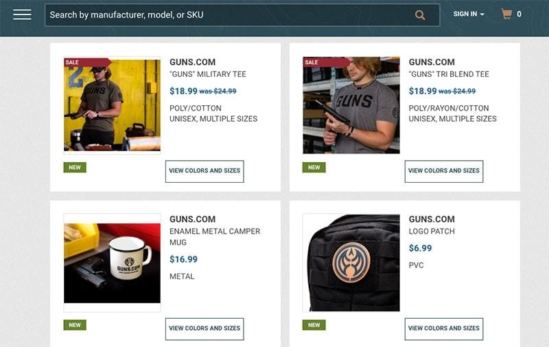 Guns.com Merchandise