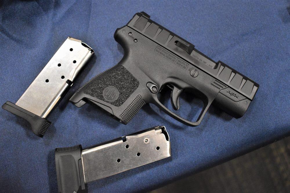 A Beretta APX carry