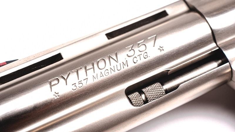 colt python revolver dirty harry 357 magnum