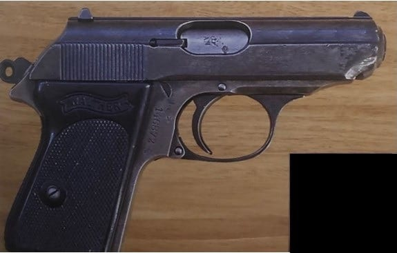 Walther PPK used in A View to a Kill