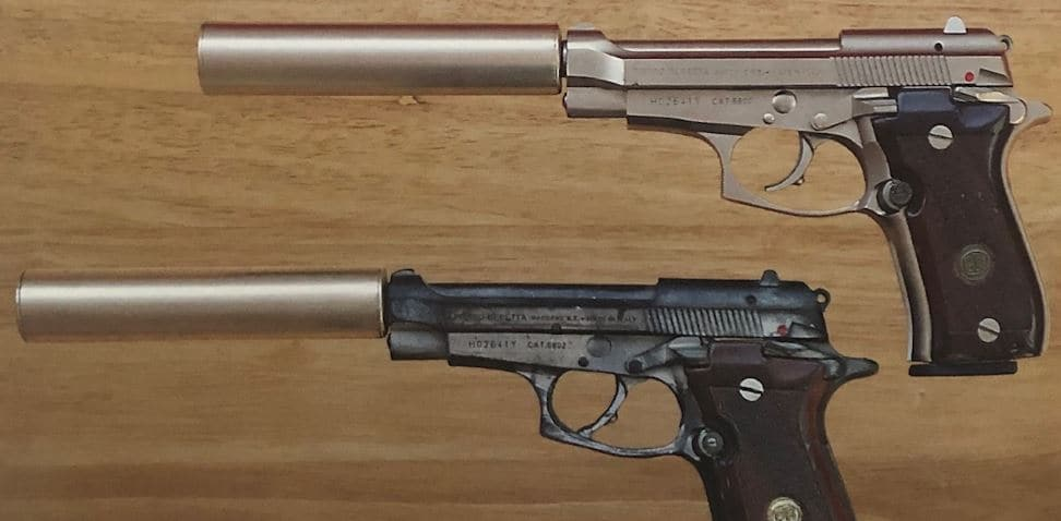And a Beretta Cheetah pistol, serial number H02641Y