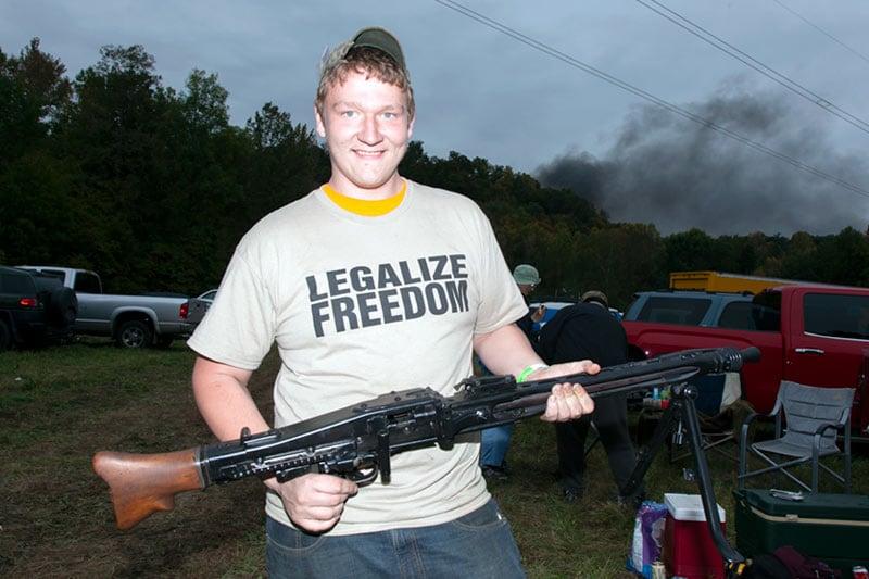 funny gun tshirts shows