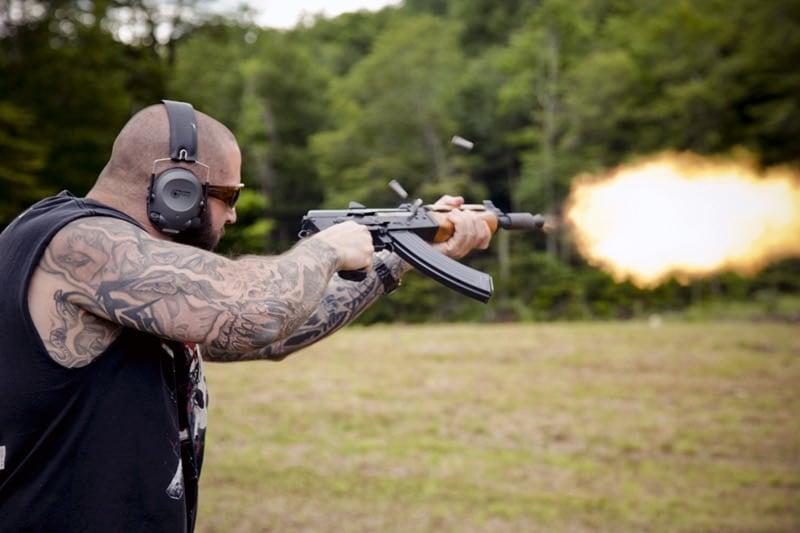 Williams Machine Gun Mafia AK-47