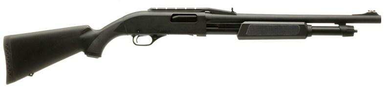 affordable dependable home defense shotguns FN P-12 12-gauge