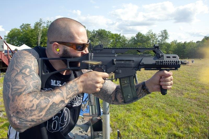 Williams Machine Gun Mafia HK G36