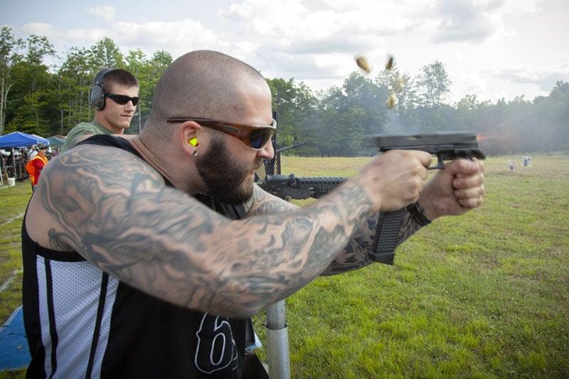 Williams Machine Gun Mafia Glock G19