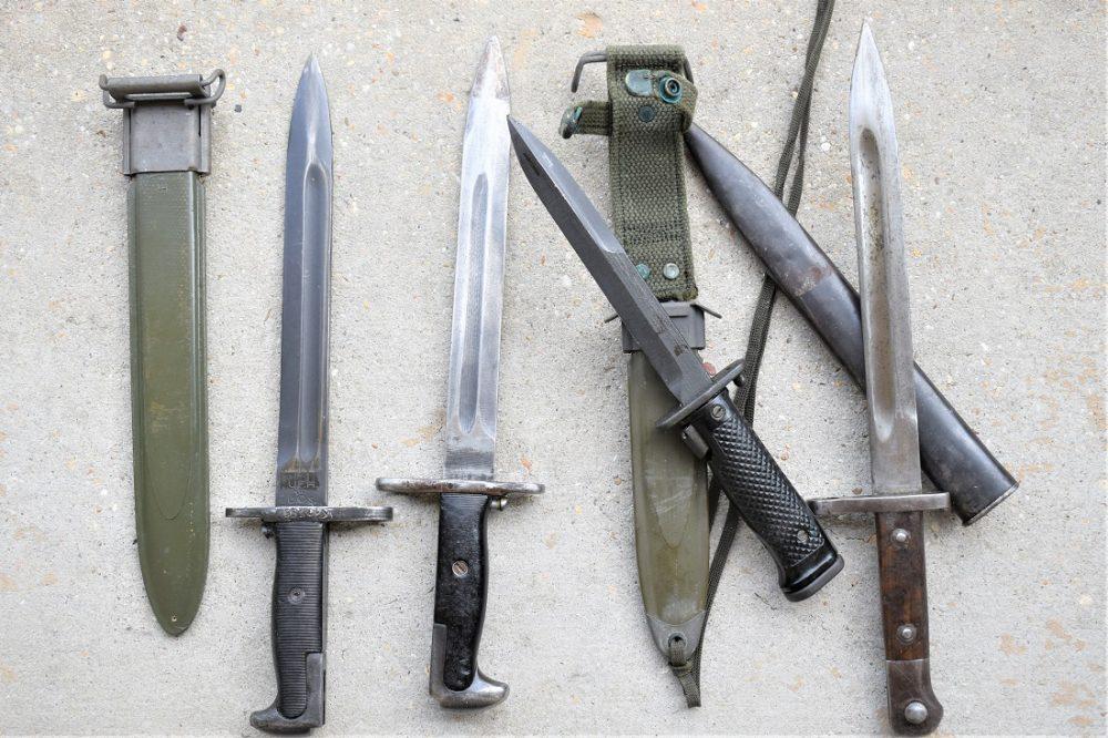 M1 Garand bayonets