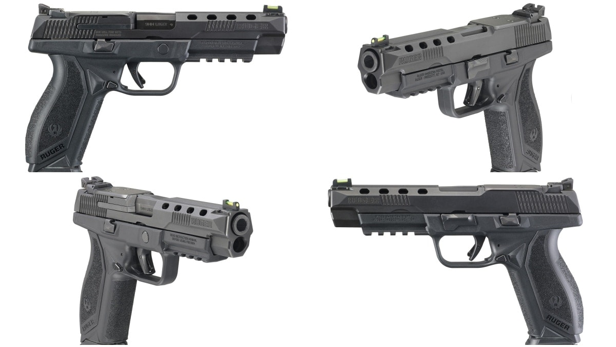 Collage of the New $579 Optics-Ready Ruger American Pistol Competition