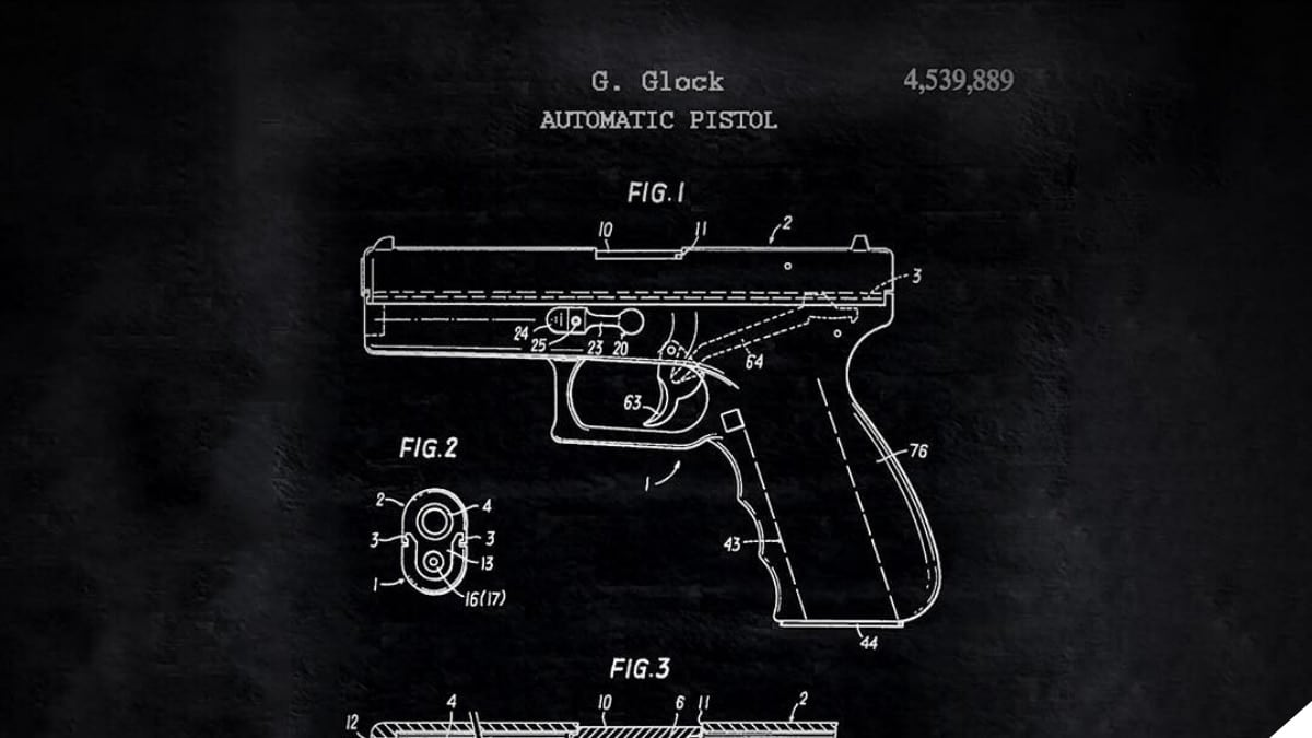 Original Glock 17 Patent: Now 39 Years Young