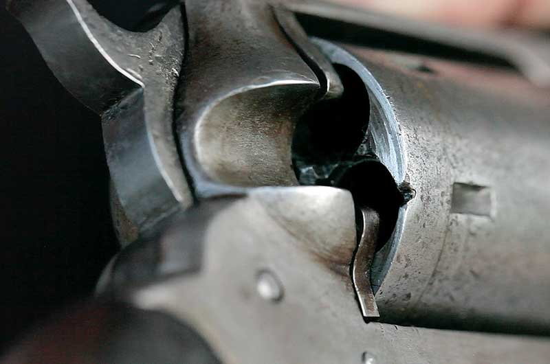 revolver loading gate