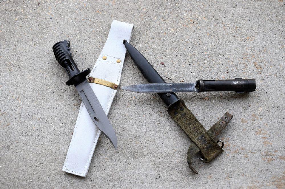 SA80 and SLR bayonet