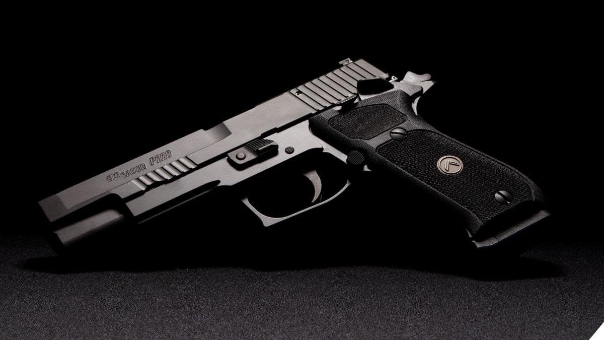 Sig Sauer Adds P220 10mm SAO Pistol Model to LEGION Series