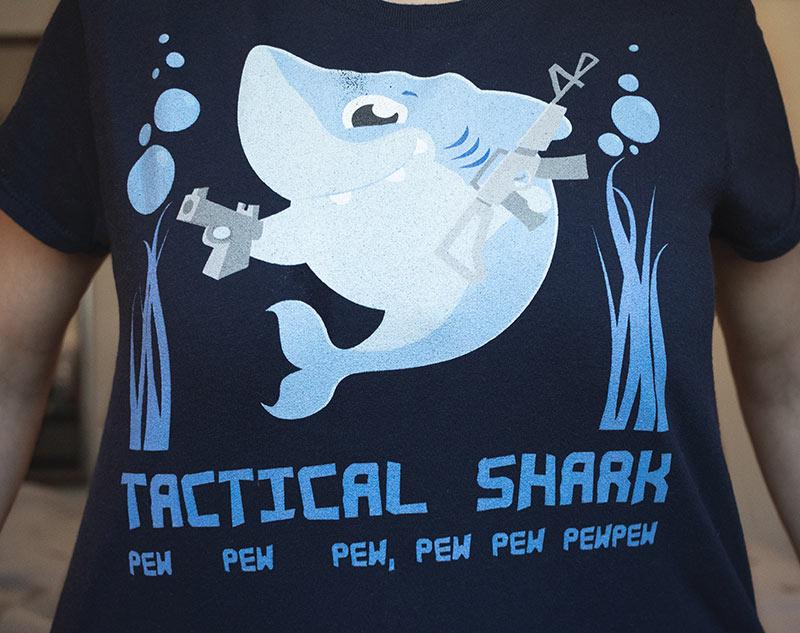 Tactical Shark Shirt