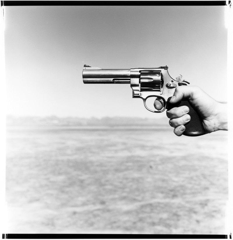 First handgun Smith & Wesson Model 629 .44 magnum.
