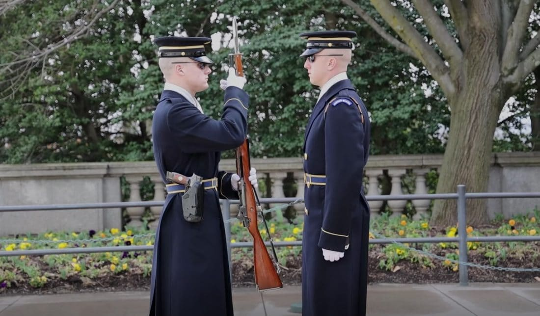 Tomb Guards at the Tomb of the Unknowns