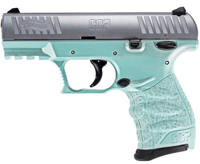 Walther CCP M2 in Angel Blue,