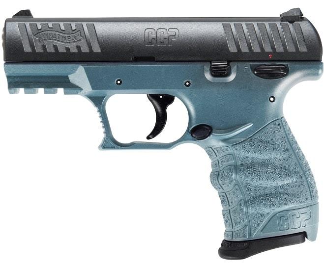 Walther CCP M2 in Blue Titanium