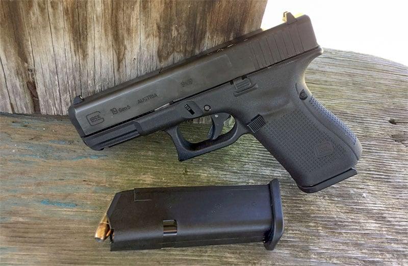First handgun Smith & Wesson Model 629 .44 magnum glock 19