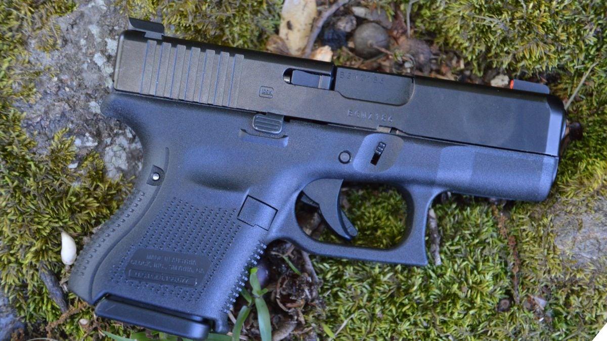 natural light photo of Glock G26 Gen5