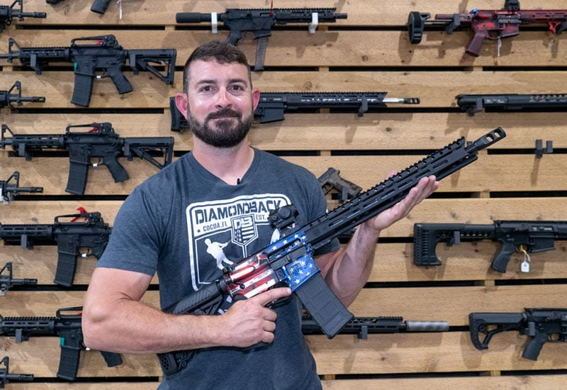 Proud American Gun Owners and their Firearms