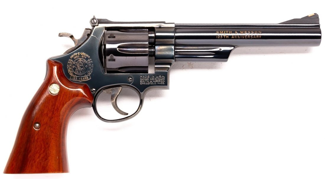 125th Anniversary Model 25 SW Smith