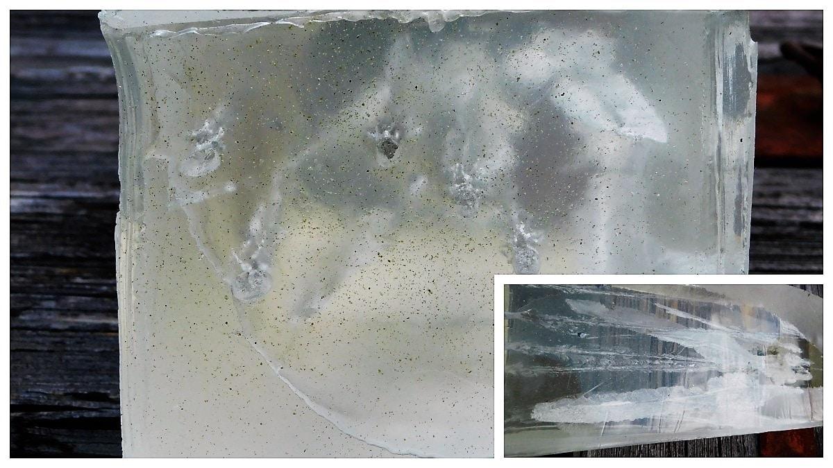 16 inches of FBI ballistics gel