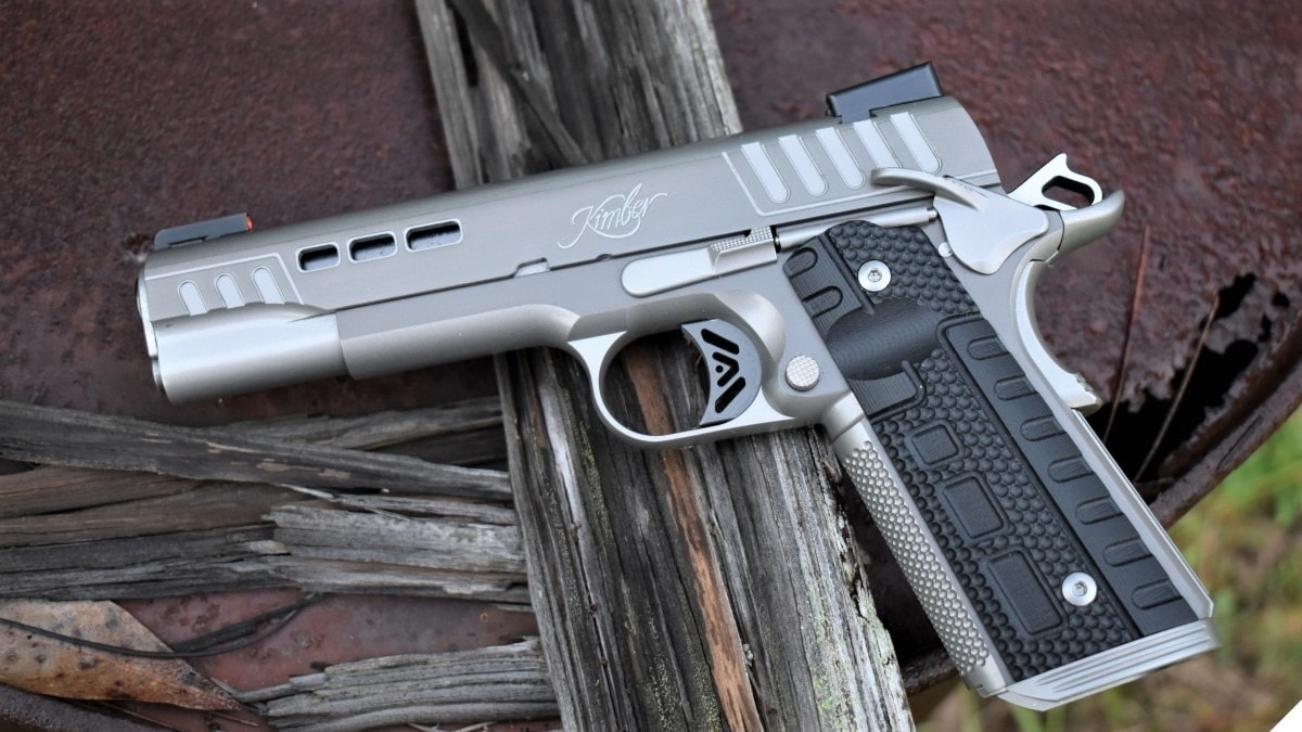 Beautiful Black Ice: Checking out the New Kimber Rapide
