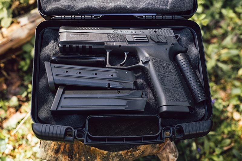 CZ P-09 in box