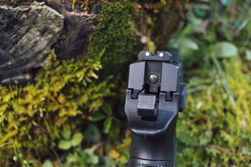 CZ P-09 sights