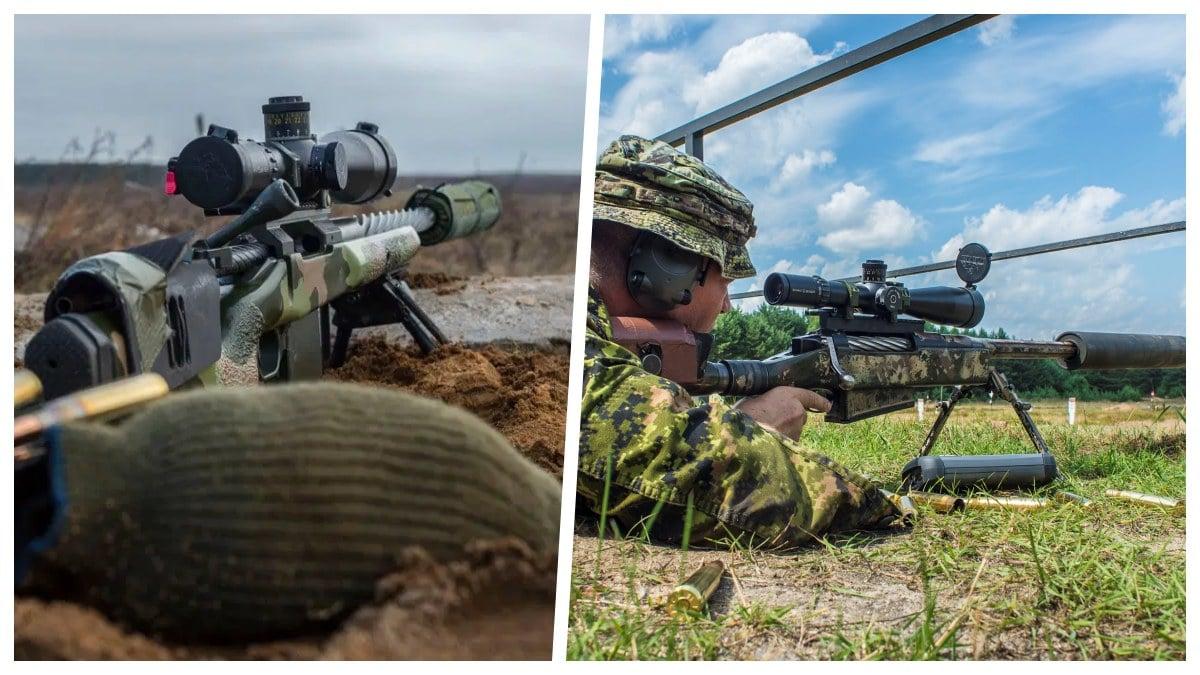 Canadian C14 C15 rifles