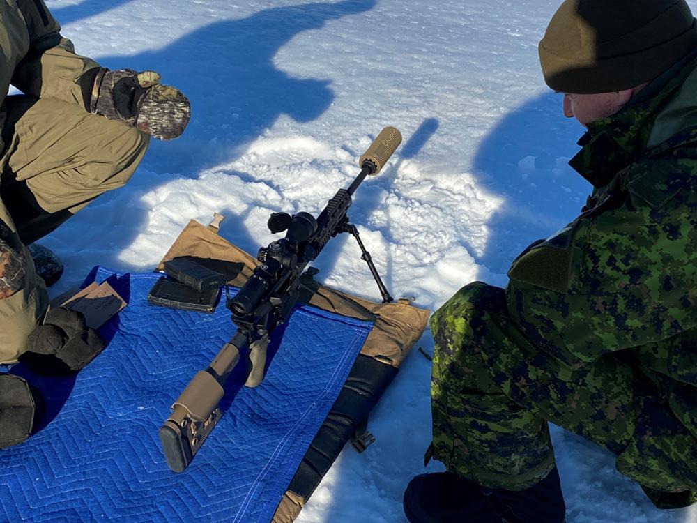 Canadian C20 rifle
