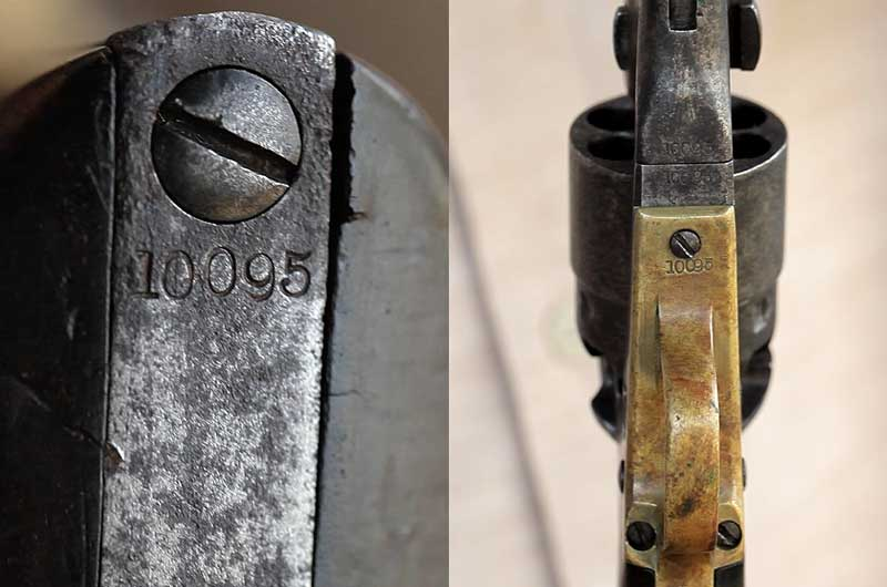 matching Colt serial numbers