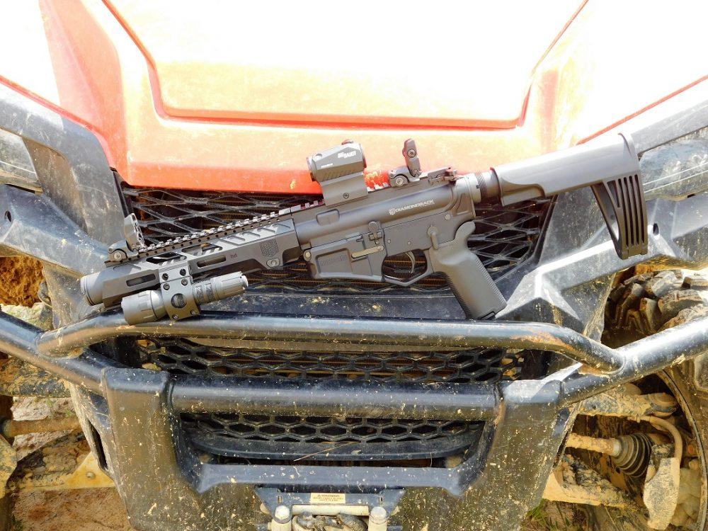 DB15 pistol side-by-side