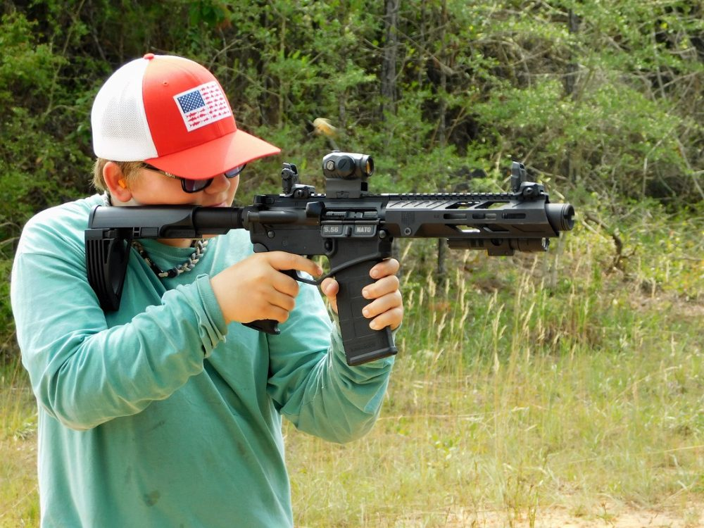DB15 pistol