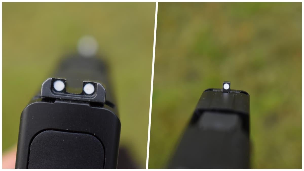 FN 503 sights
