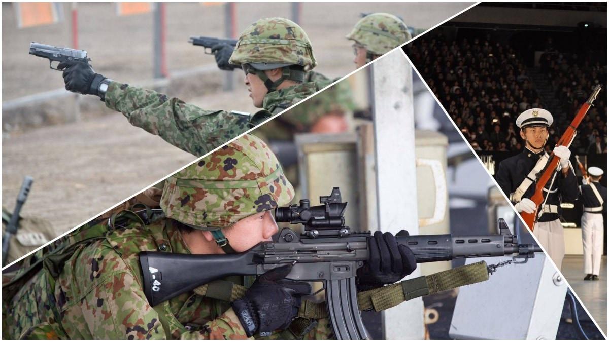 Japan Ground Self-Defense Force Type 89 P220 M1 Garand