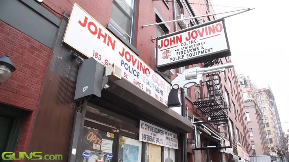 Jovino Gun Shop Closed