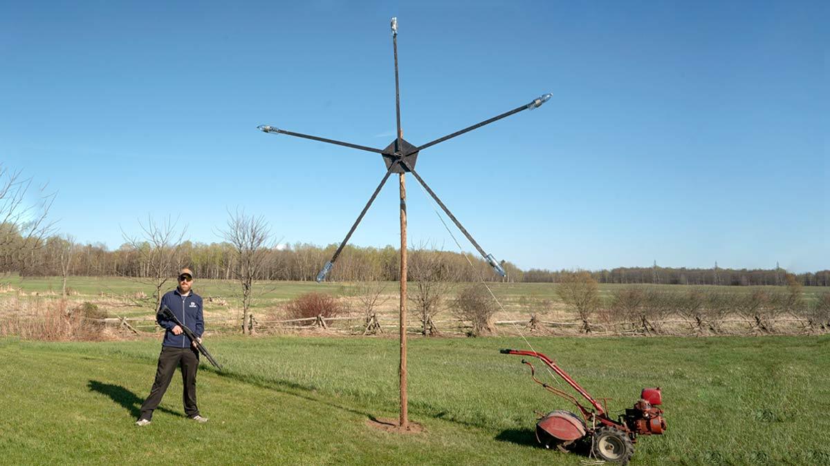 World's Biggest Texas Star Target Mossberg 500