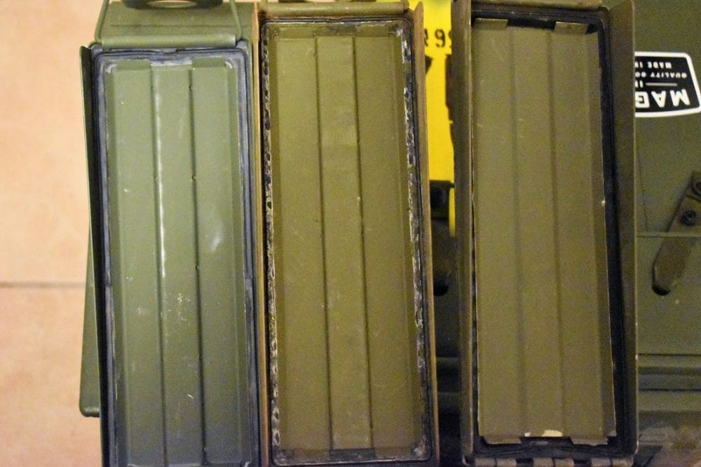 Ammo can seals