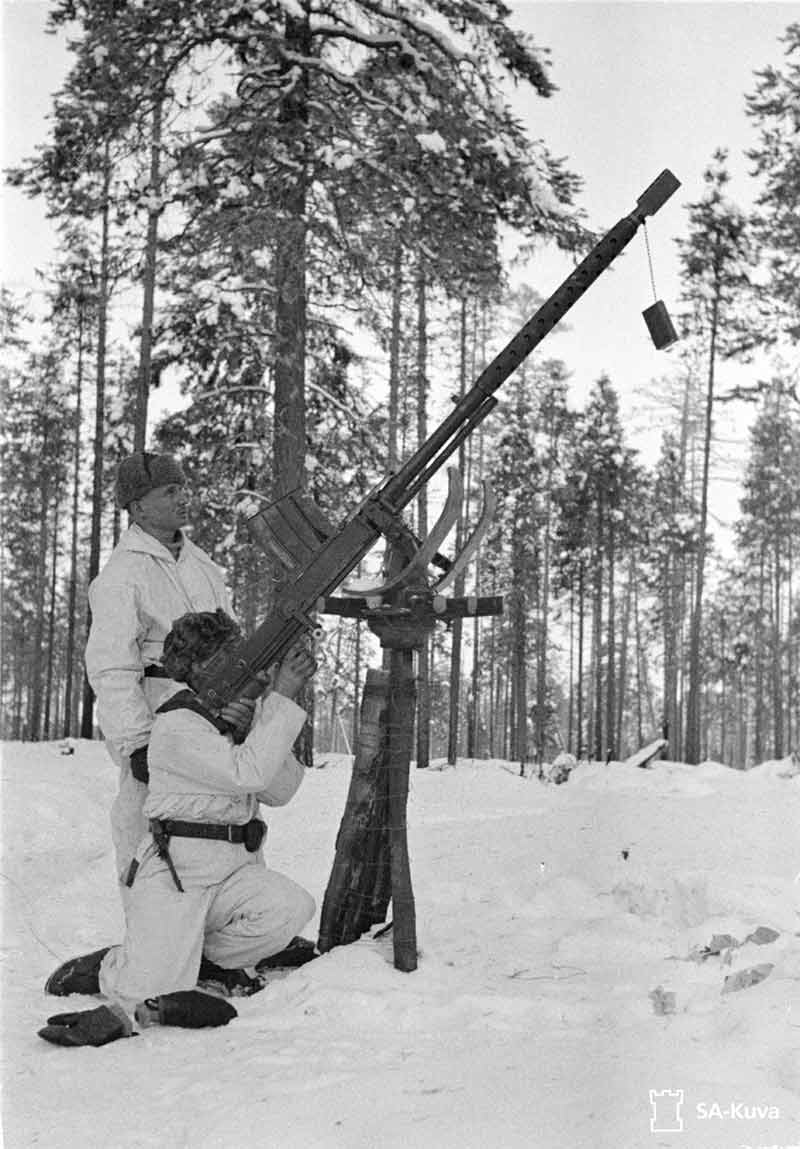 The 'Elephant Gun' from Finland - The Lahti L-39