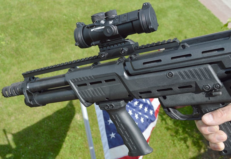 Standard Manufacturing's DP-12 Double-Barreled 12-Gauge Shotgun
