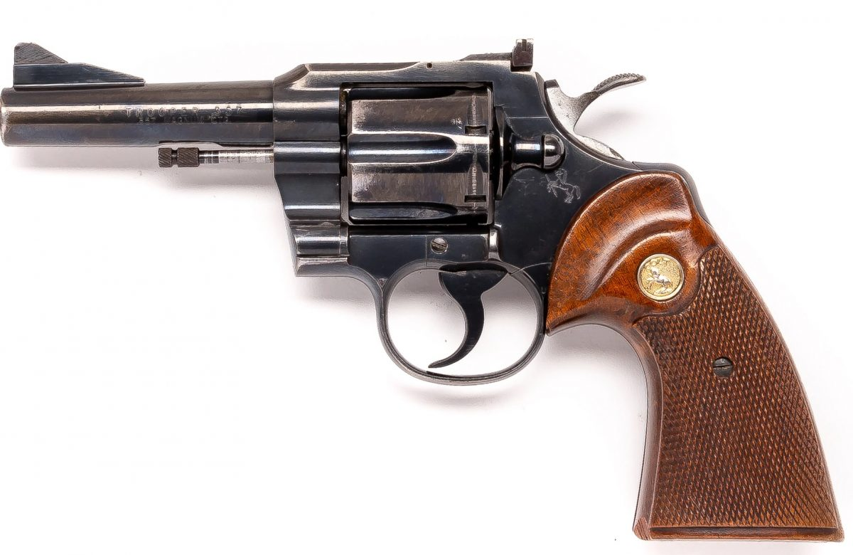 1965 Colt Trooper 48712 357 4 inch