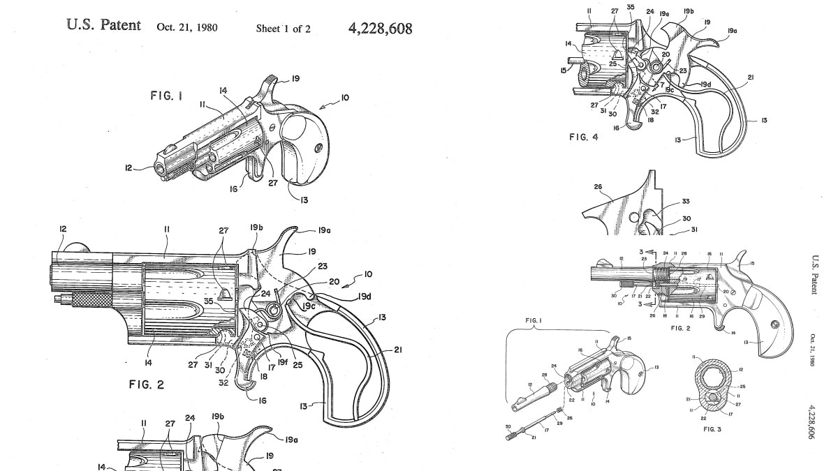Casull patents mini revolvers